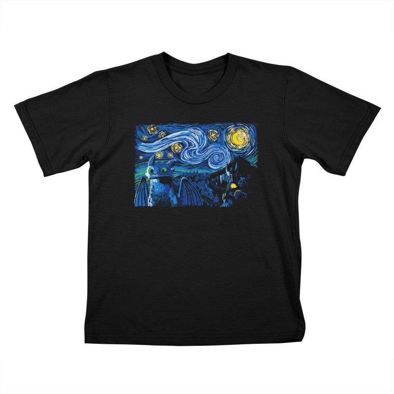 Starry Berk Kids T-Shirt by manikx's Artist Shop