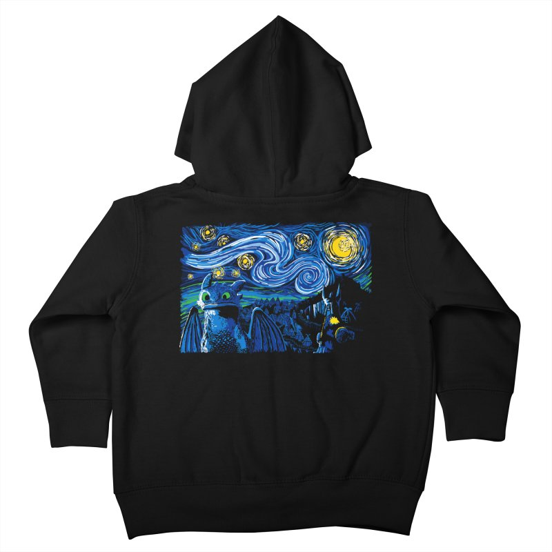 Starry Berk Kids Toddler Zip-Up Hoody by manikx's Artist Shop