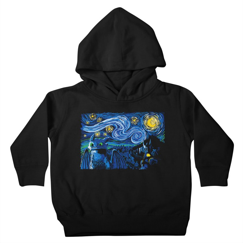 Starry Berk Kids Toddler Pullover Hoody by manikx's Artist Shop