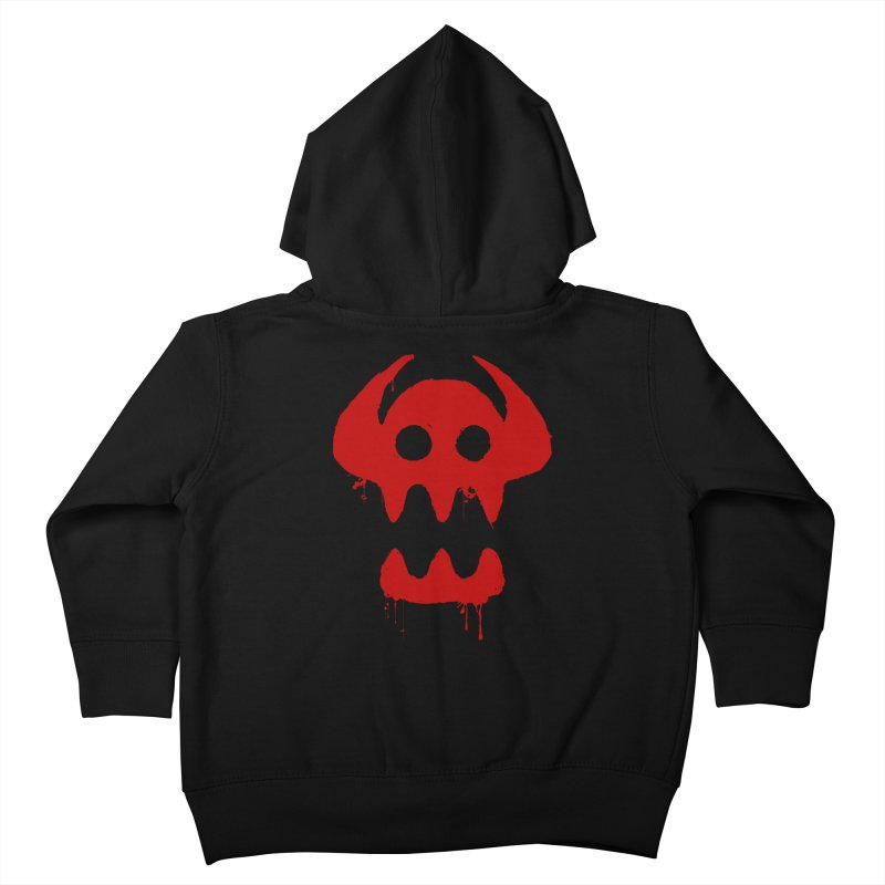 courage of berk Kids Toddler Zip-Up Hoody by manikx's Artist Shop