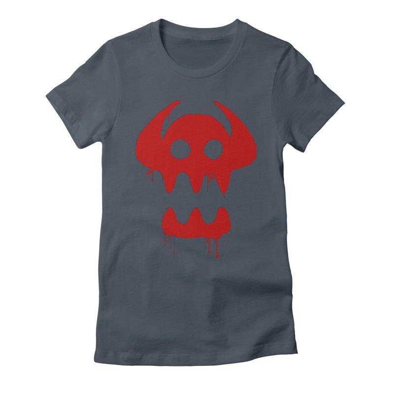 courage of berk Women's Fitted T-Shirt by manikx's Artist Shop