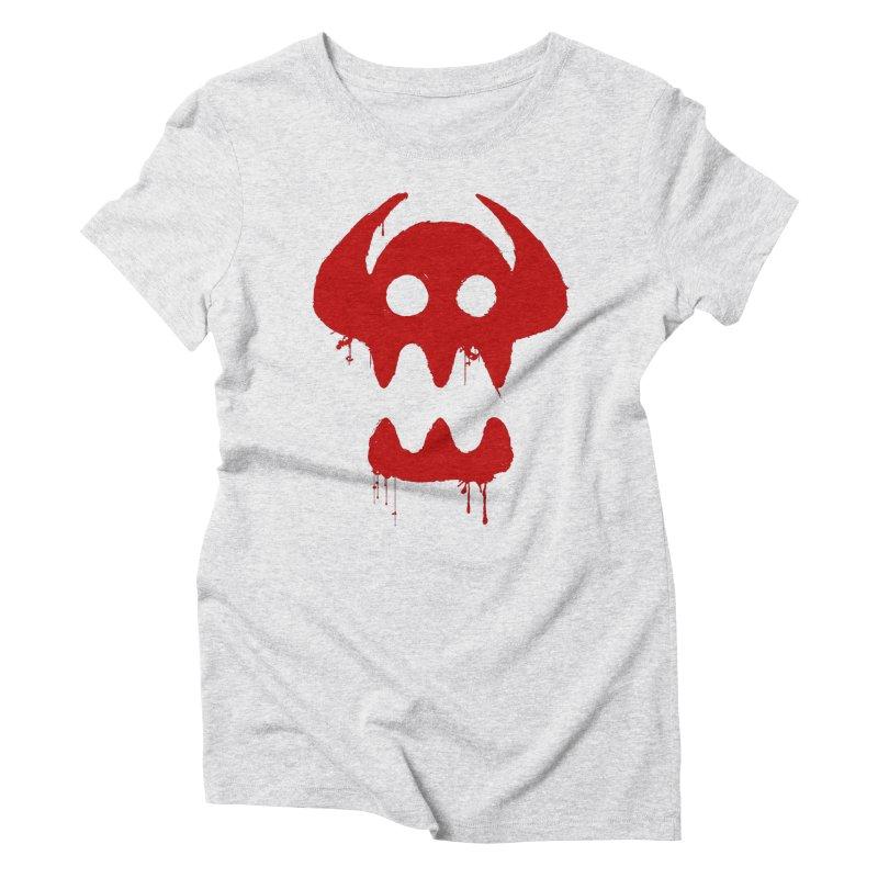courage of berk Women's Triblend T-Shirt by manikx's Artist Shop