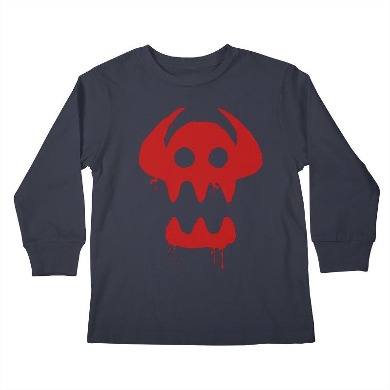 courage of berk Kids Longsleeve T-Shirt by manikx's Artist Shop