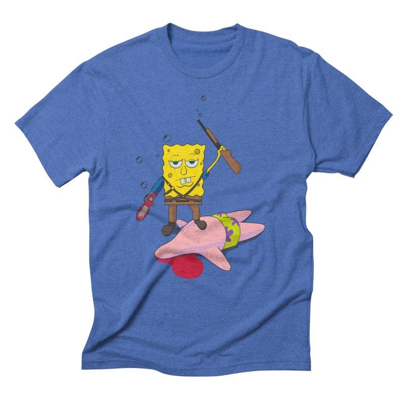 ash bob starfish hunter Men's Triblend T-shirt by manikx's Artist Shop
