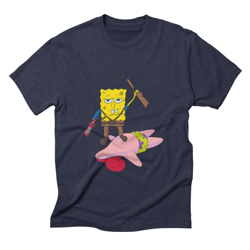 ash bob starfish hunter Men's Triblend T-Shirt by manikx's Artist Shop