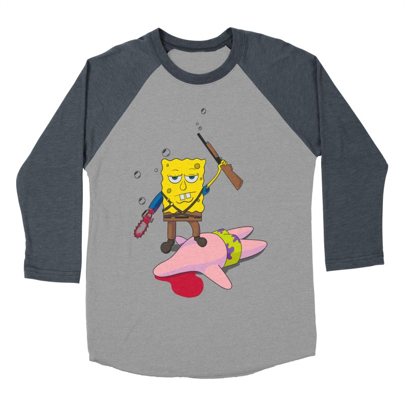 ash bob starfish hunter Men's Baseball Triblend T-Shirt by manikx's Artist Shop