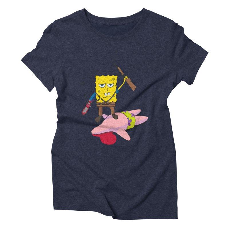 ash bob starfish hunter Women's Triblend T-shirt by manikx's Artist Shop