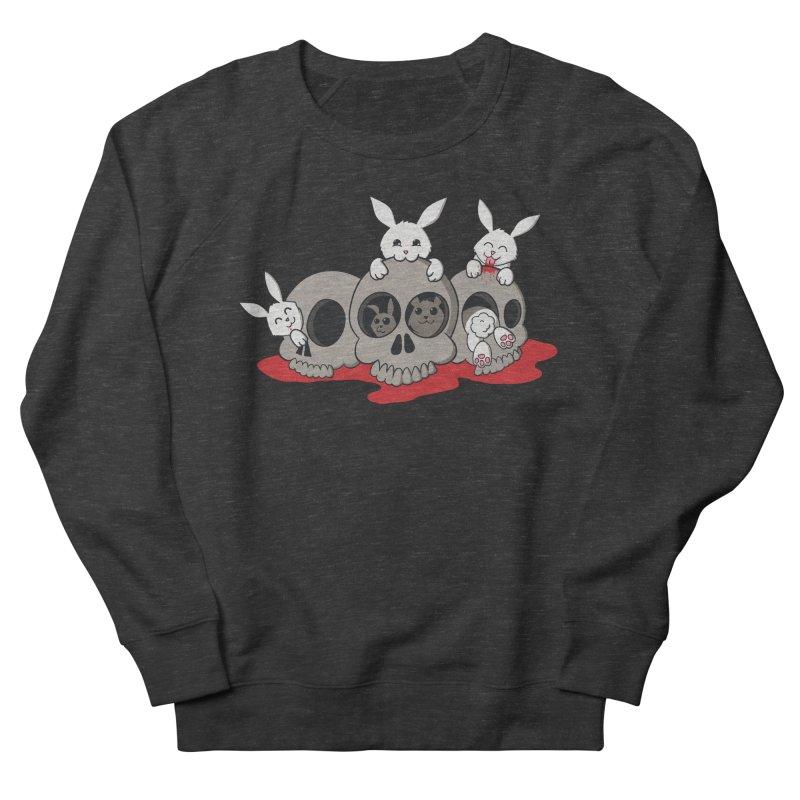 bunnies and skulls Women's Sweatshirt by manikx's Artist Shop