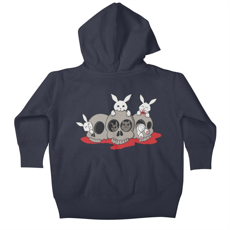 bunnies and skulls   by manikx's Artist Shop