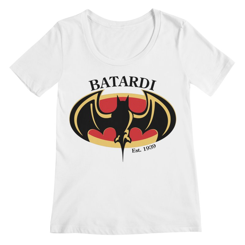 Batardi Women's Scoopneck by manikx's Artist Shop