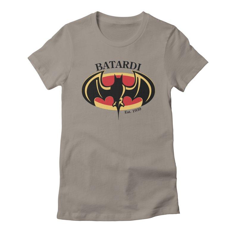 Batardi Women's Fitted T-Shirt by manikx's Artist Shop