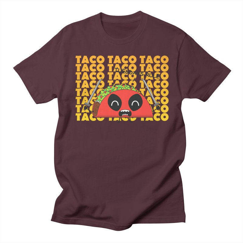 tacos rule! Men's T-shirt by manikx's Artist Shop