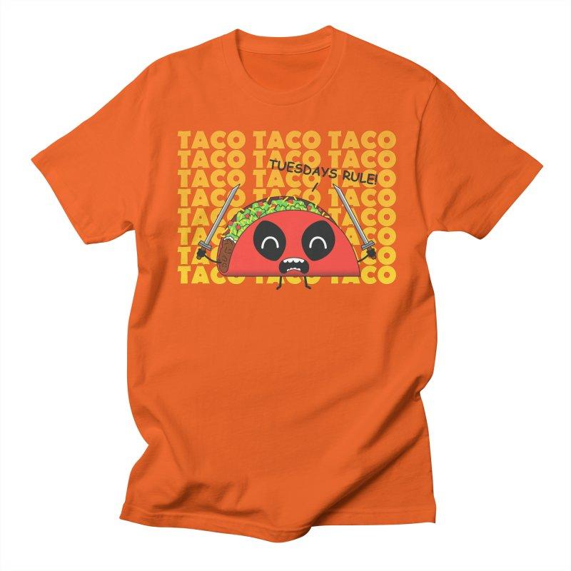 tacos rule! Men's T-Shirt by manikx's Artist Shop