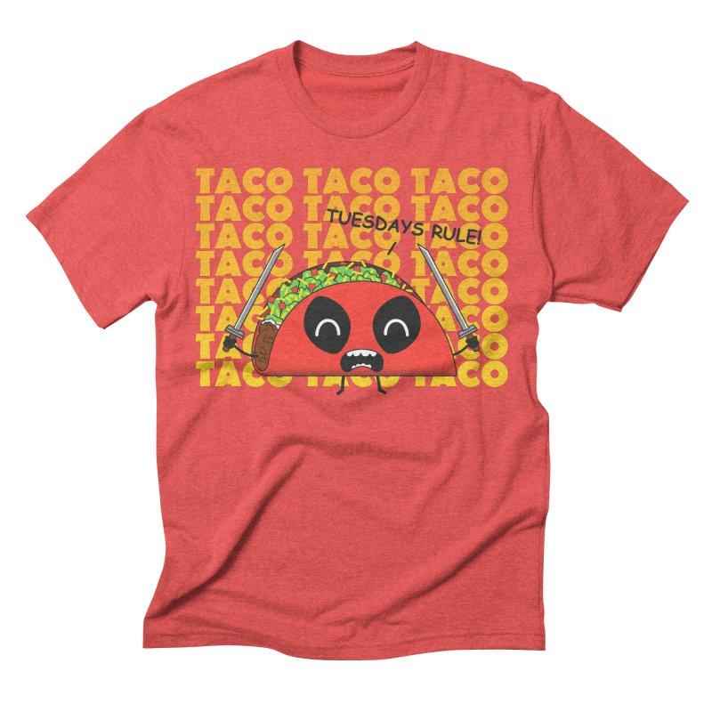 tacos rule! Men's Triblend T-shirt by manikx's Artist Shop