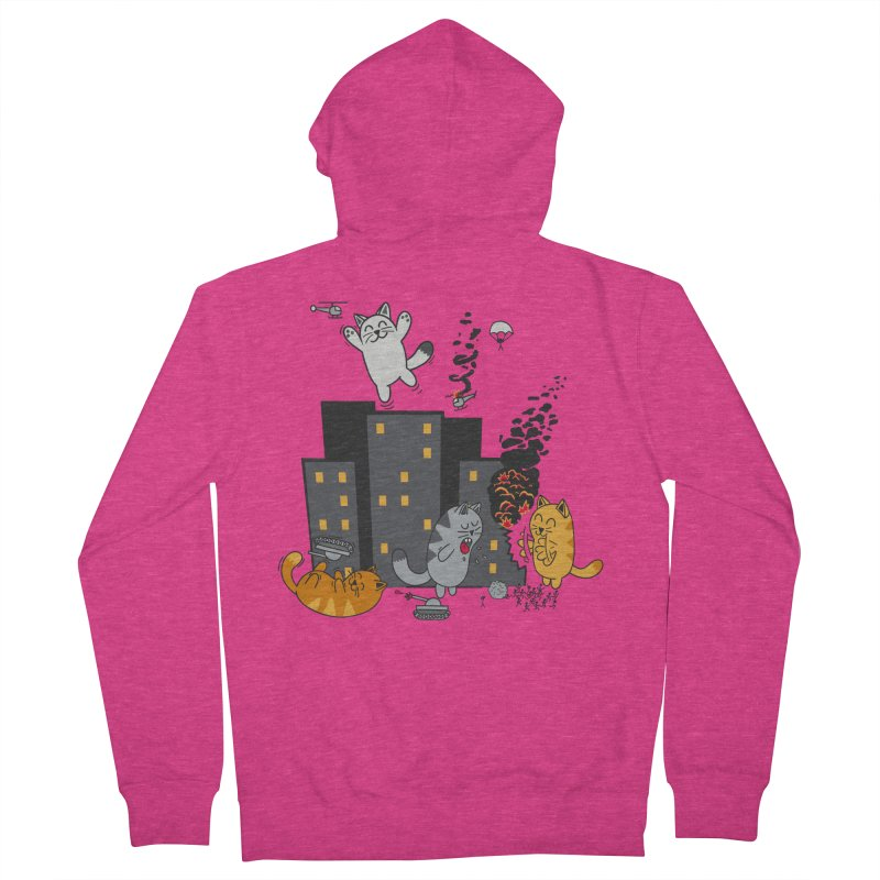 cattastrafy Women's Zip-Up Hoody by manikx's Artist Shop