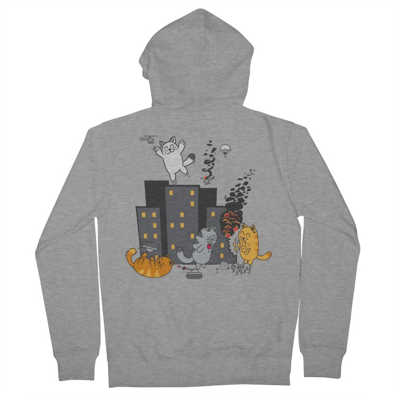 cattastrafy Men's Zip-Up Hoody by manikx's Artist Shop
