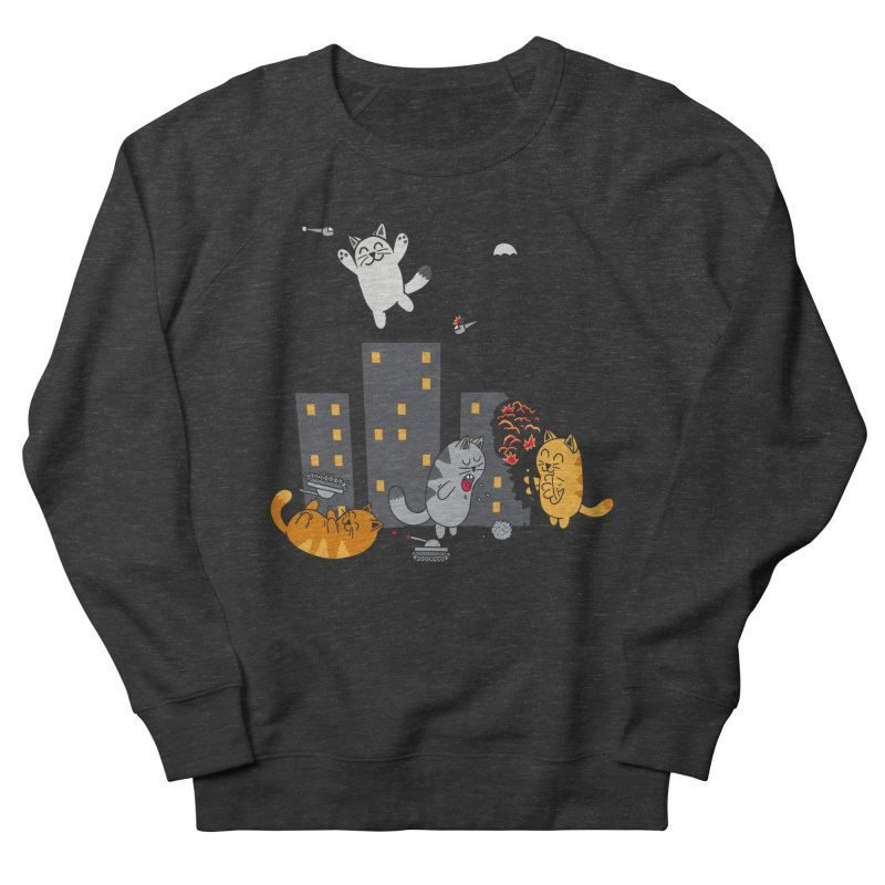 cattastrafy Men's Sweatshirt by manikx's Artist Shop