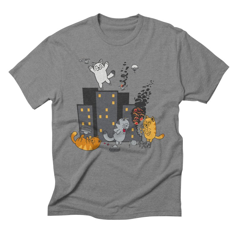 cattastrafy Men's Triblend T-Shirt by manikx's Artist Shop