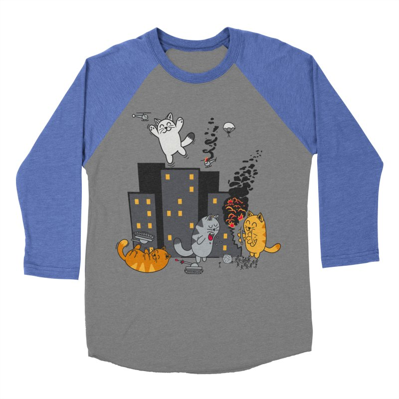 cattastrafy Women's Baseball Triblend T-Shirt by manikx's Artist Shop