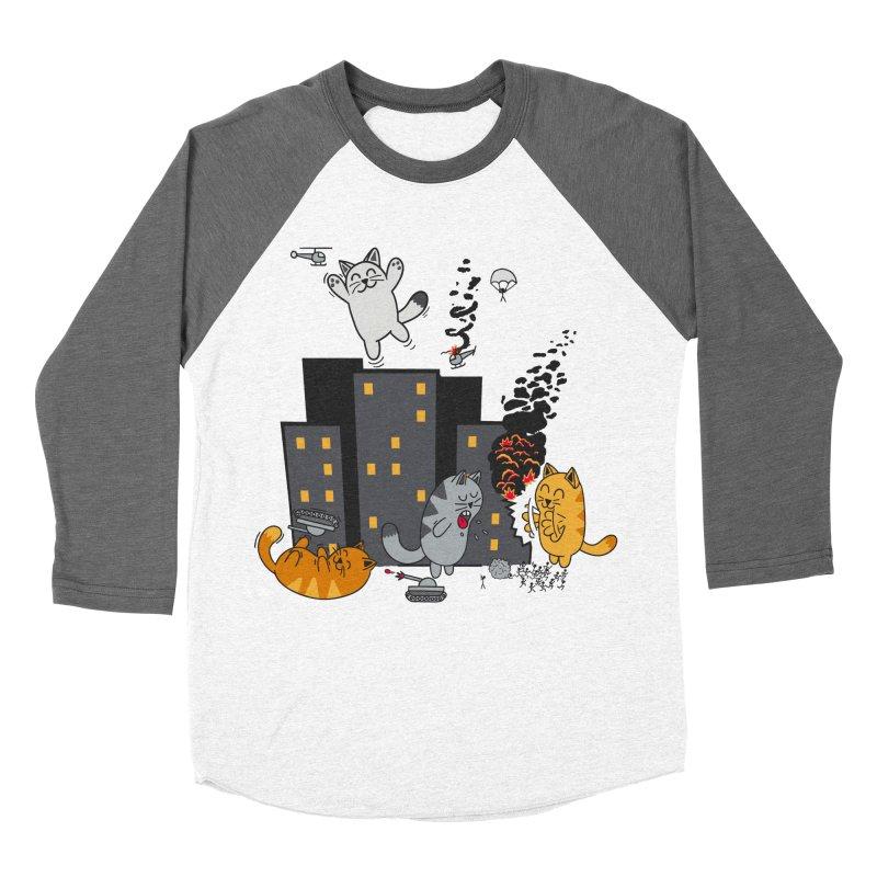 cattastrafy Men's Baseball Triblend T-Shirt by manikx's Artist Shop