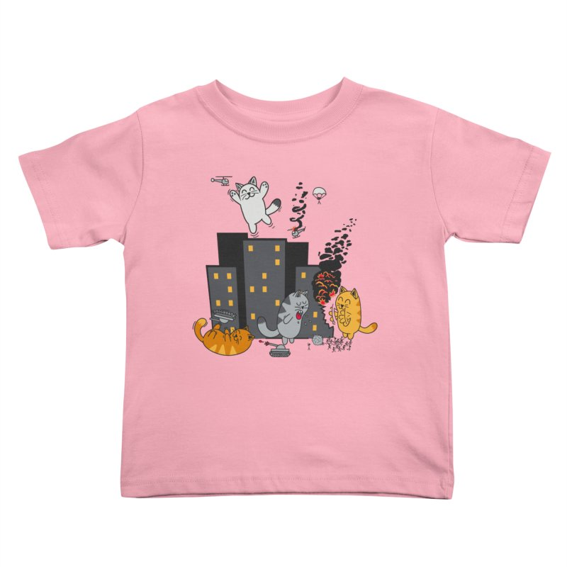 cattastrafy Kids Toddler T-Shirt by manikx's Artist Shop