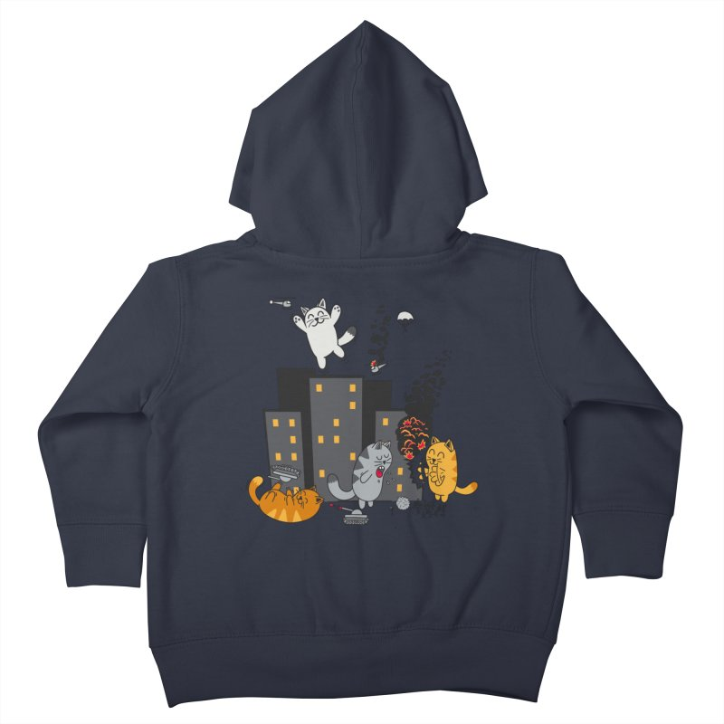 cattastrafy Kids Toddler Zip-Up Hoody by manikx's Artist Shop