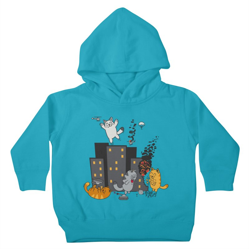 cattastrafy Kids Toddler Pullover Hoody by manikx's Artist Shop