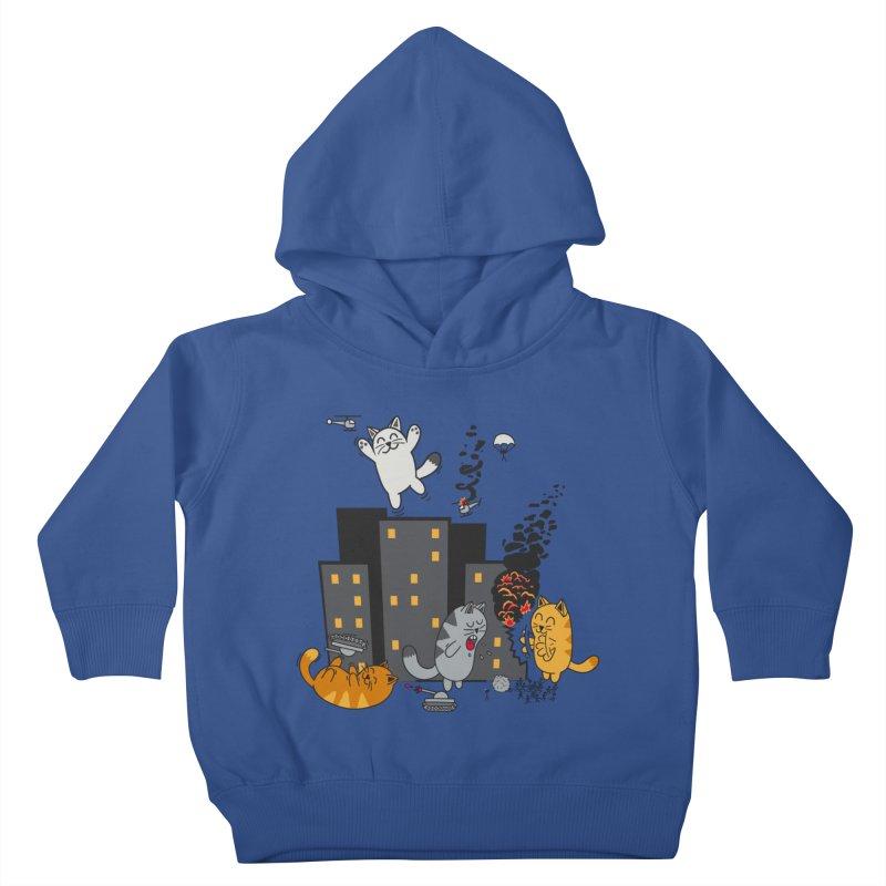 cattastrafy Kids Toddler Pullover Hoody by manikx's Artist Shop