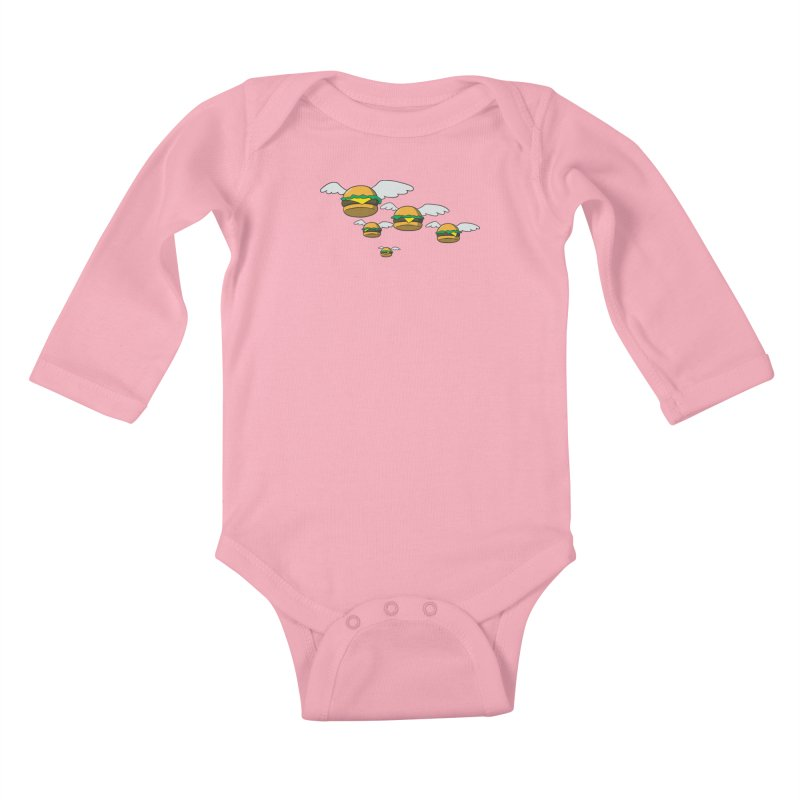 Bobs Dream Kids Baby Longsleeve Bodysuit by manikx's Artist Shop