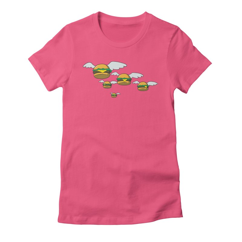 Bobs Dream Women's Fitted T-Shirt by manikx's Artist Shop