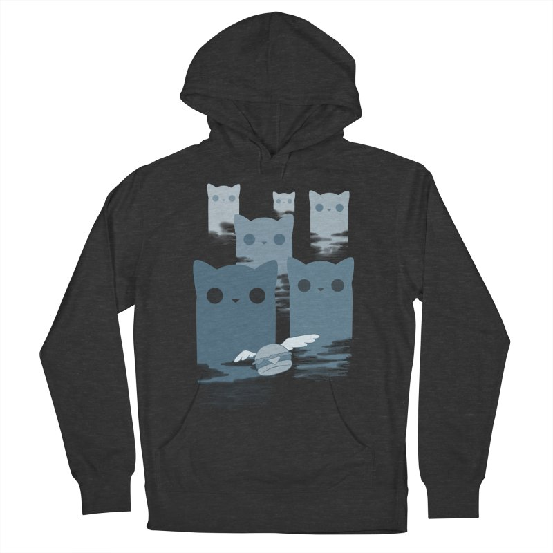 meow mountains Men's Pullover Hoody by manikx's Artist Shop