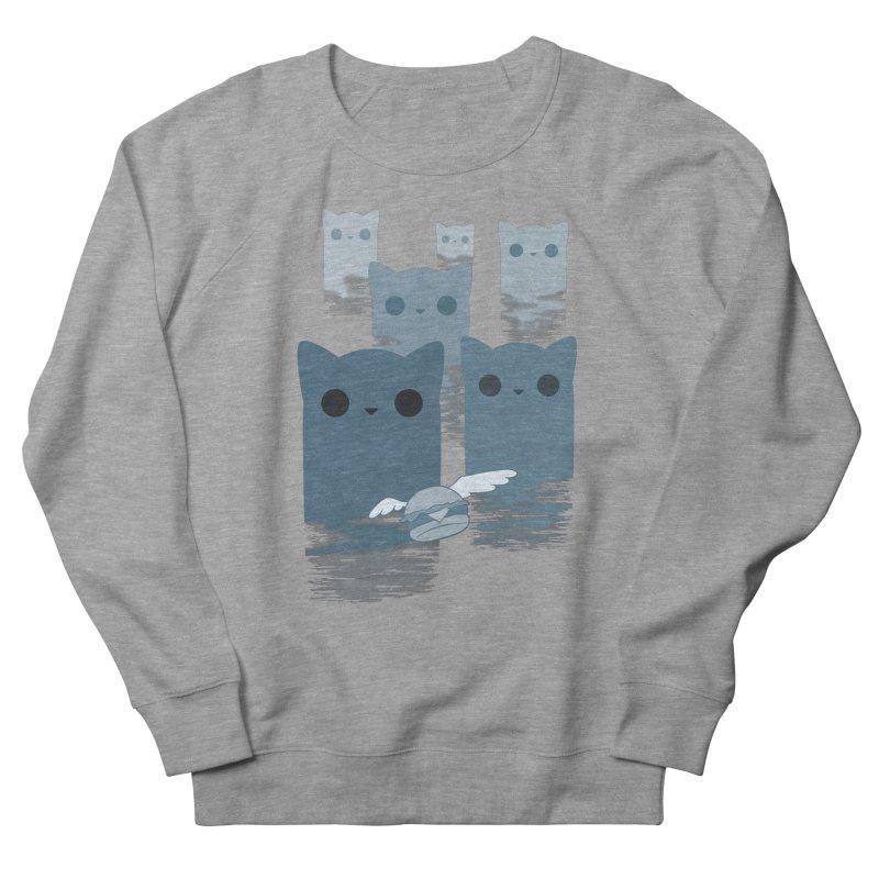 meow mountains Men's Sweatshirt by manikx's Artist Shop