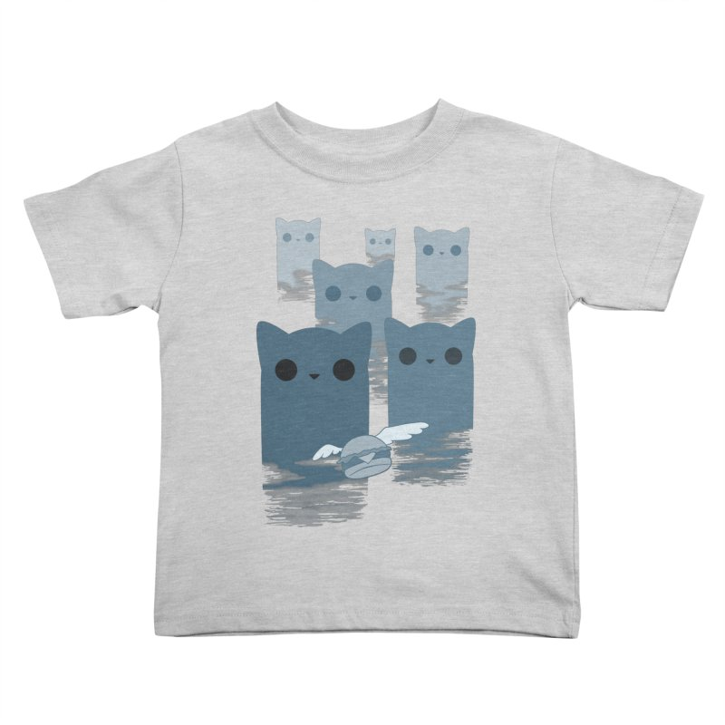 meow mountains Kids Toddler T-Shirt by manikx's Artist Shop
