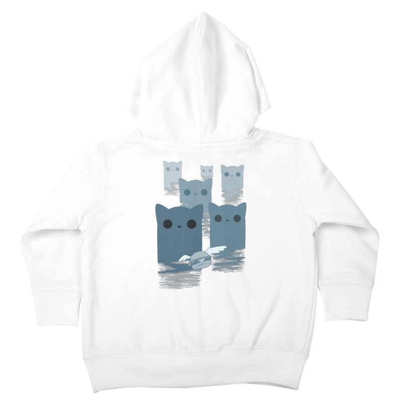 meow mountains Kids Toddler Zip-Up Hoody by manikx's Artist Shop
