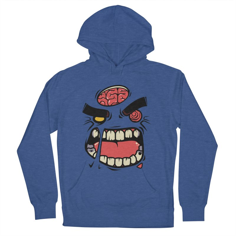ANGRY ZOMBIE Men's Pullover Hoody by mankeeboi's Artist Shop