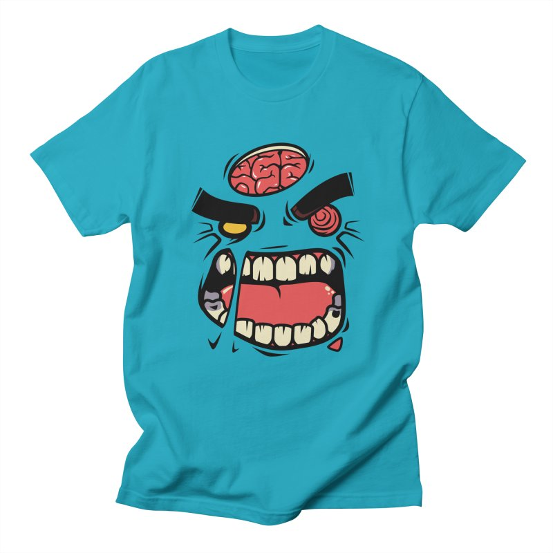 ANGRY ZOMBIE Men's T-shirt by mankeeboi's Artist Shop