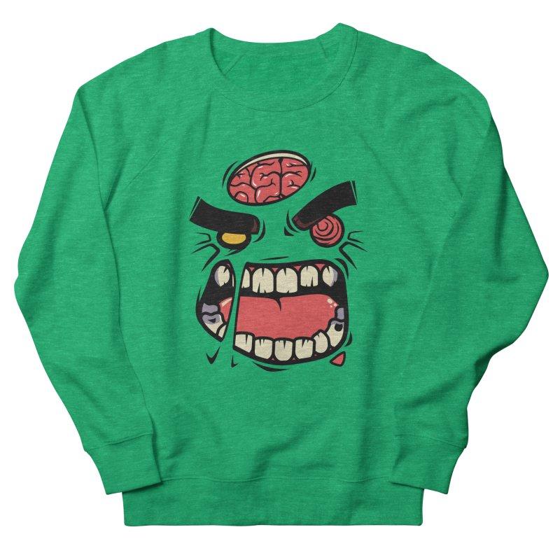 ANGRY ZOMBIE Women's Sweatshirt by mankeeboi's Artist Shop