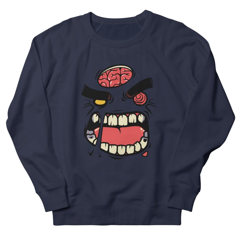 ANGRY ZOMBIE Women's Sweatshirt by mankeeboi's Artist Shop