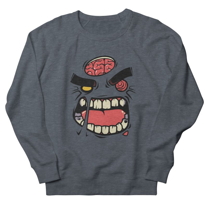 ANGRY ZOMBIE Men's Sweatshirt by mankeeboi's Artist Shop