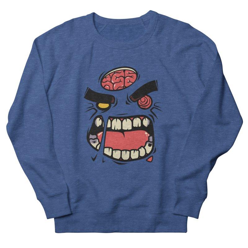 ANGRY ZOMBIE Men's Sweatshirt by mankeeboi's Artist Shop