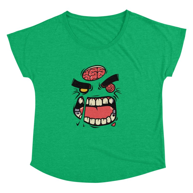 ANGRY ZOMBIE Women's Dolman by mankeeboi's Artist Shop