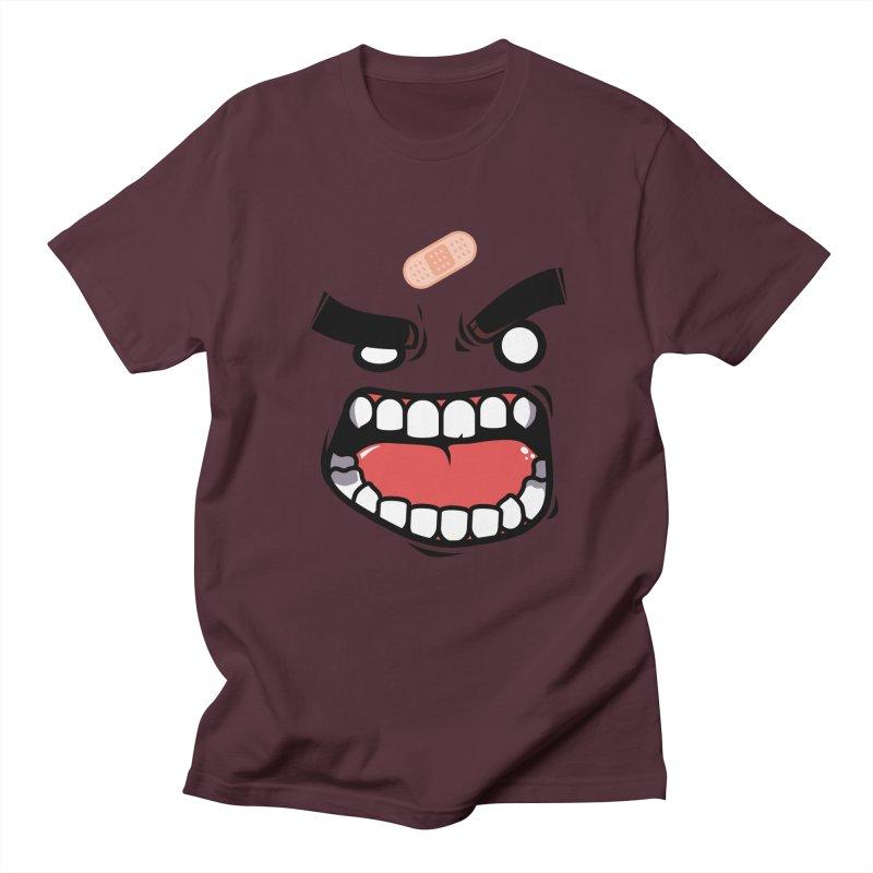 ANGRY TEE Men's T-shirt by mankeeboi's Artist Shop