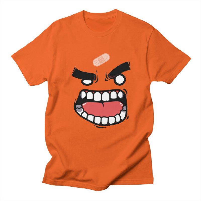 ANGRY TEE Men's Regular T-Shirt by mankeeboi's Artist Shop