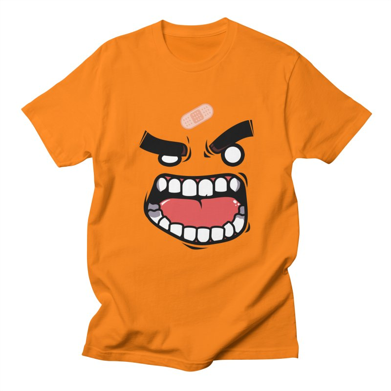 ANGRY TEE Men's T-Shirt by mankeeboi's Artist Shop