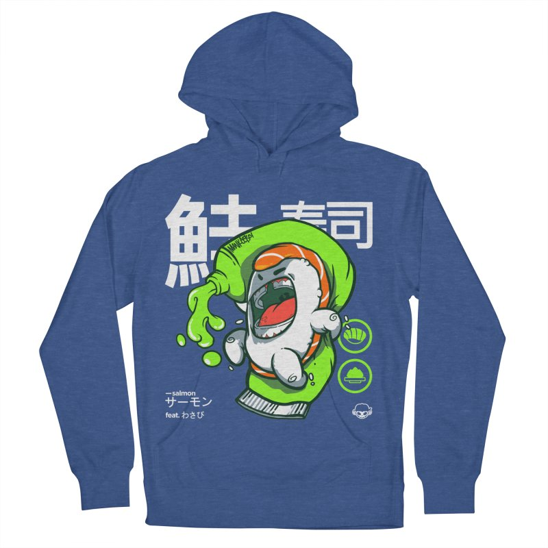 Salmon feat. Wasabi Women's Pullover Hoody by mankeeboi's Artist Shop