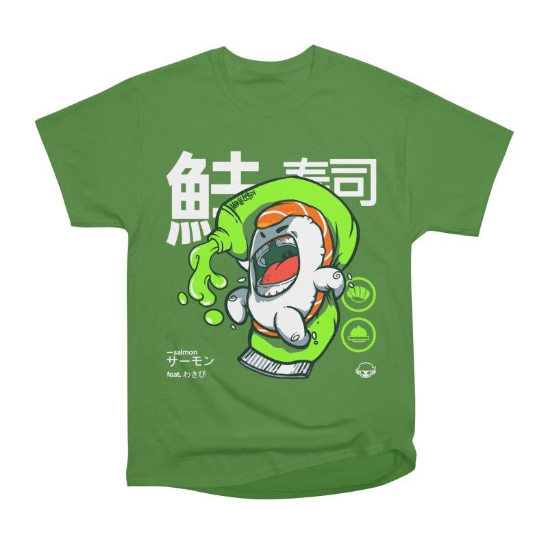 Salmon feat. Wasabi Women's Classic Unisex T-Shirt by mankeeboi's Artist Shop