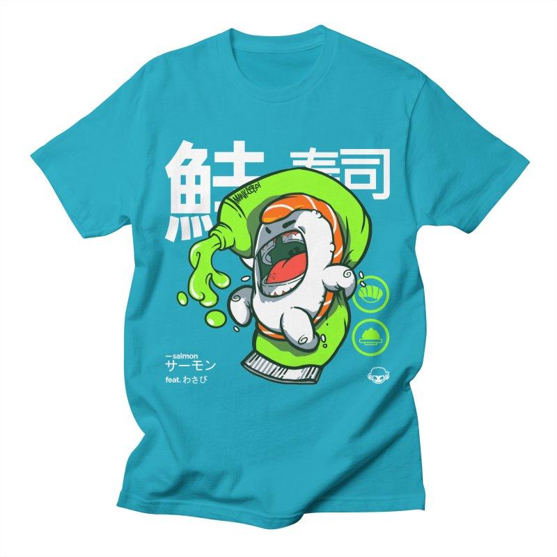 Salmon feat. Wasabi Women's Unisex T-Shirt by mankeeboi's Artist Shop
