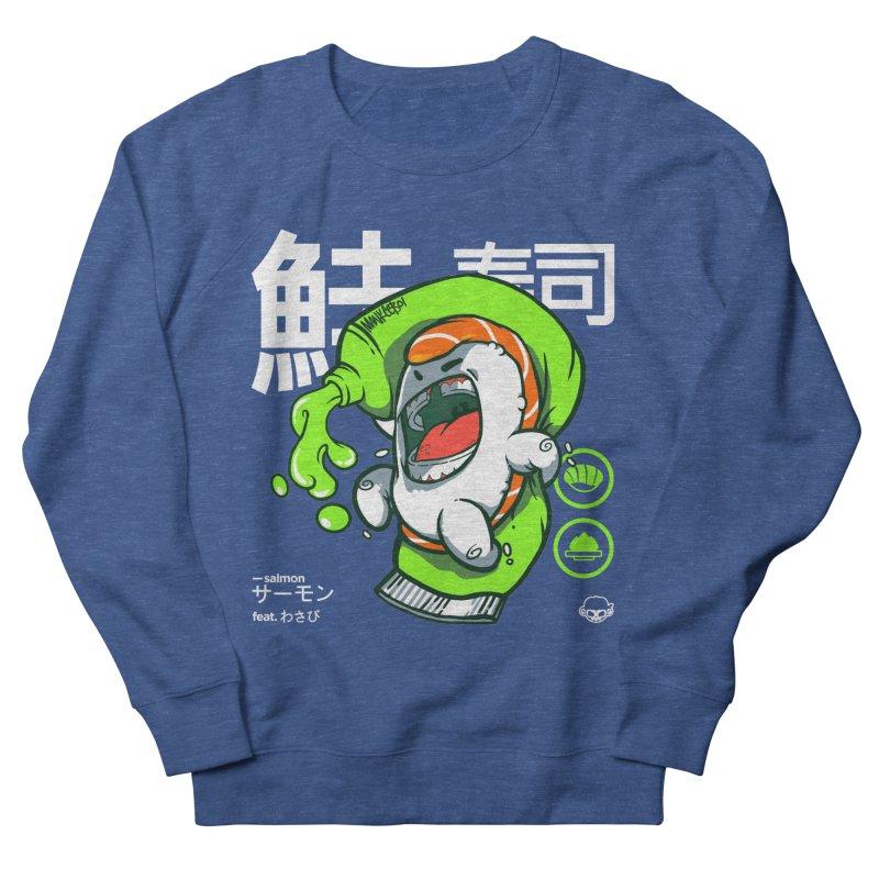 Salmon feat. Wasabi Women's French Terry Sweatshirt by mankeeboi's Artist Shop
