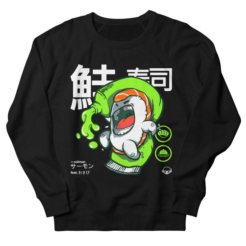 Salmon feat. Wasabi Men's Sweatshirt by mankeeboi's Artist Shop
