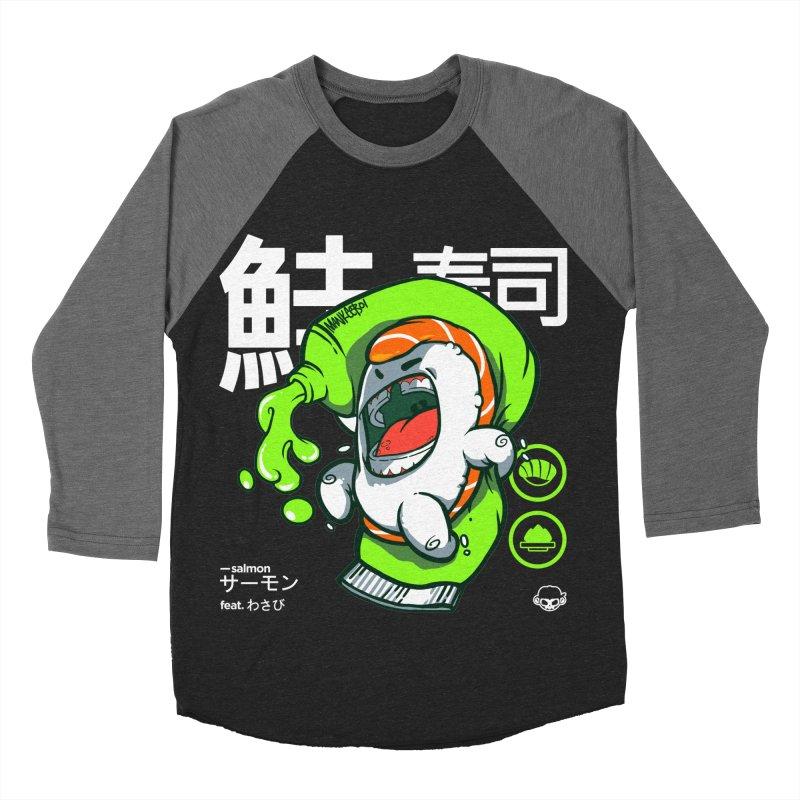 Salmon feat. Wasabi Women's Baseball Triblend T-Shirt by mankeeboi's Artist Shop